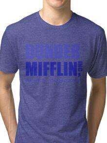 Dunder Mifflin inc. Tri-blend T-Shirt