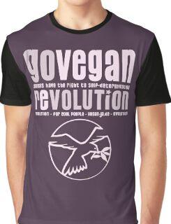 GO VEGAN REVOLUTION Graphic T-Shirt