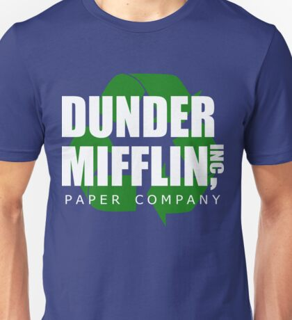 Dunder Mifflin Recycle Unisex T-Shirt