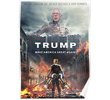 Attack on Titan Trump Poster