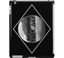 Bringing Back July Logo--White iPad Case/Skin