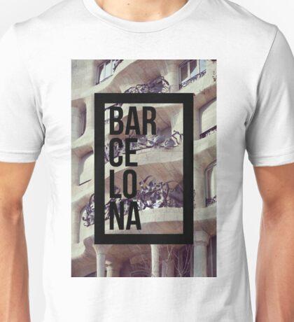 Casa Milá La Pedrera Barcelona  Photography Unisex T-Shirt
