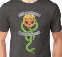 Voldemort Trump Death Eater Dark Mark Harry Potter Books Politics President Election Print Unisex T-Shirt