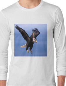 Trump Riding Eagle Long Sleeve T-Shirt