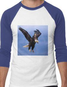 Trump Riding Eagle Men's Baseball ¾ T-Shirt