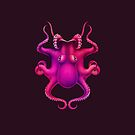 Octopus illustration by Esquise