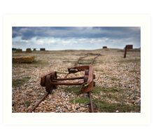 Dungeness Through a Prime Lens 01 Art Print