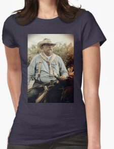 Cattle Drive 22 Womens Fitted T-Shirt