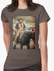 Cattle Drive 23 Womens Fitted T-Shirt