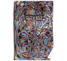 Man with Glasses Poster