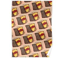 Lamington Pattern Poster