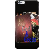 God and Geeks Podcast Logo iPhone Case/Skin