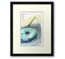 Watery Dessert Framed Print