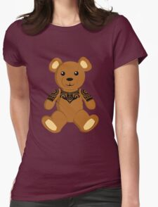 Tribal Teddy Womens Fitted T-Shirt