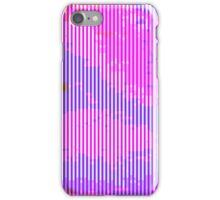 glitchy - soft pastel iPhone Case/Skin