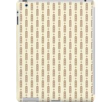 Geometric shapes retro pattern iPad Case/Skin