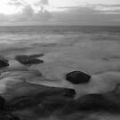 Long Exposure at Bondi Rocks 1 by EzekielR