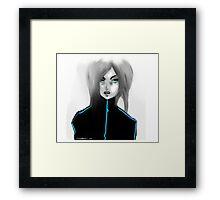 Mean Gurl Framed Print