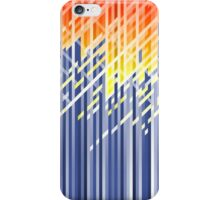 Flame dynamic lines iPhone Case/Skin