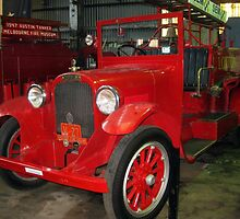 1927 Dodge Graham Historic Fire Engine by Bev Pascoe