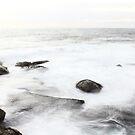 Long Exposure at Bondi Rocks 2 by EzekielR