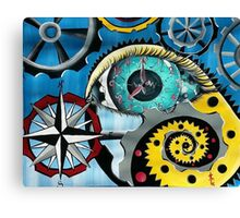 The Minute Hand Canvas Print