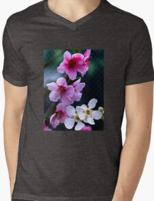 Spring blossoms Mens V-Neck T-Shirt