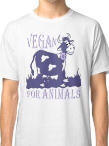 VEGAN FOR ANIMALS Classic T-Shirt