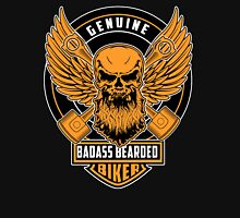 Genuine Badass Bearded Biker Unisex T-Shirt
