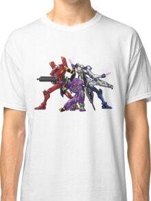 Evangelion: 8bit Genesis  Classic T-Shirt