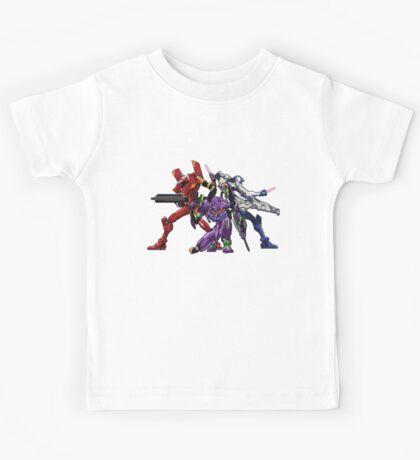 Evangelion: 8bit Genesis  Kids Tee