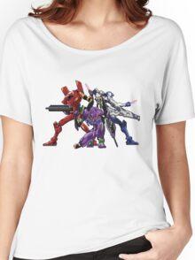 Evangelion: 8bit Genesis  Women's Relaxed Fit T-Shirt