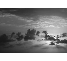 Monochrome Sunrise Photographic Print