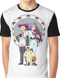 Team Rocket Nouveau Graphic T-Shirt