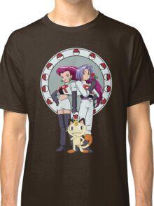 Team Rocket Nouveau Classic T-Shirt