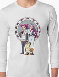 Team Rocket Nouveau Long Sleeve T-Shirt