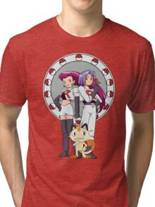 Team Rocket Nouveau Tri-blend T-Shirt