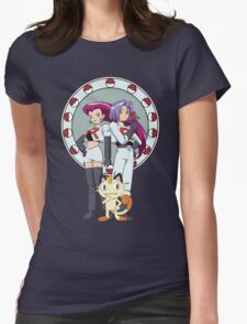 Team Rocket Nouveau Womens Fitted T-Shirt