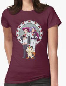 Team Rocket Nouveau Womens Fitted T-Shirt