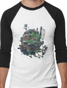 8bit Howl's Moving Castle Men's Baseball ¾ T-Shirt