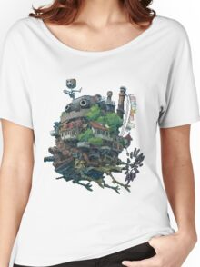 8bit Howl's Moving Castle Women's Relaxed Fit T-Shirt