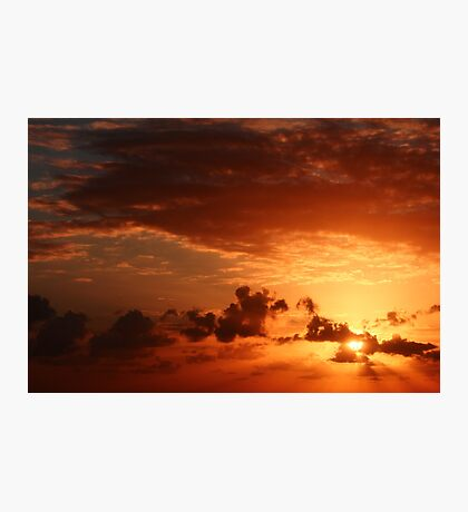 Another Sunrise at Bondi 1 Photographic Print