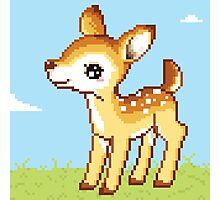 8bit Fawn Photographic Print