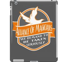 Alliance of Magicians iPad Case/Skin