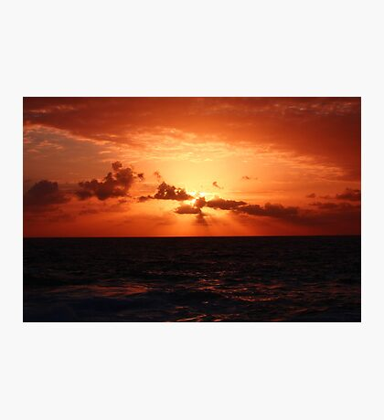 Another Sunrise at Bondi 3 Photographic Print