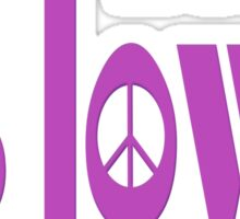 all u need is love & peace - love, peace, rescue, animal rights, vegan Sticker