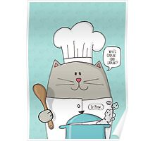 Cat Top Chef Poster
