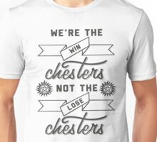Not the losechesters  Unisex T-Shirt