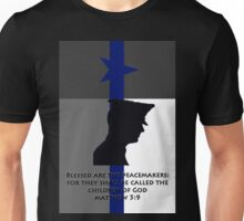 Blessed are the Peacemakers Texas Unisex T-Shirt