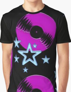 party - sky, star, music, disco, funny Graphic T-Shirt